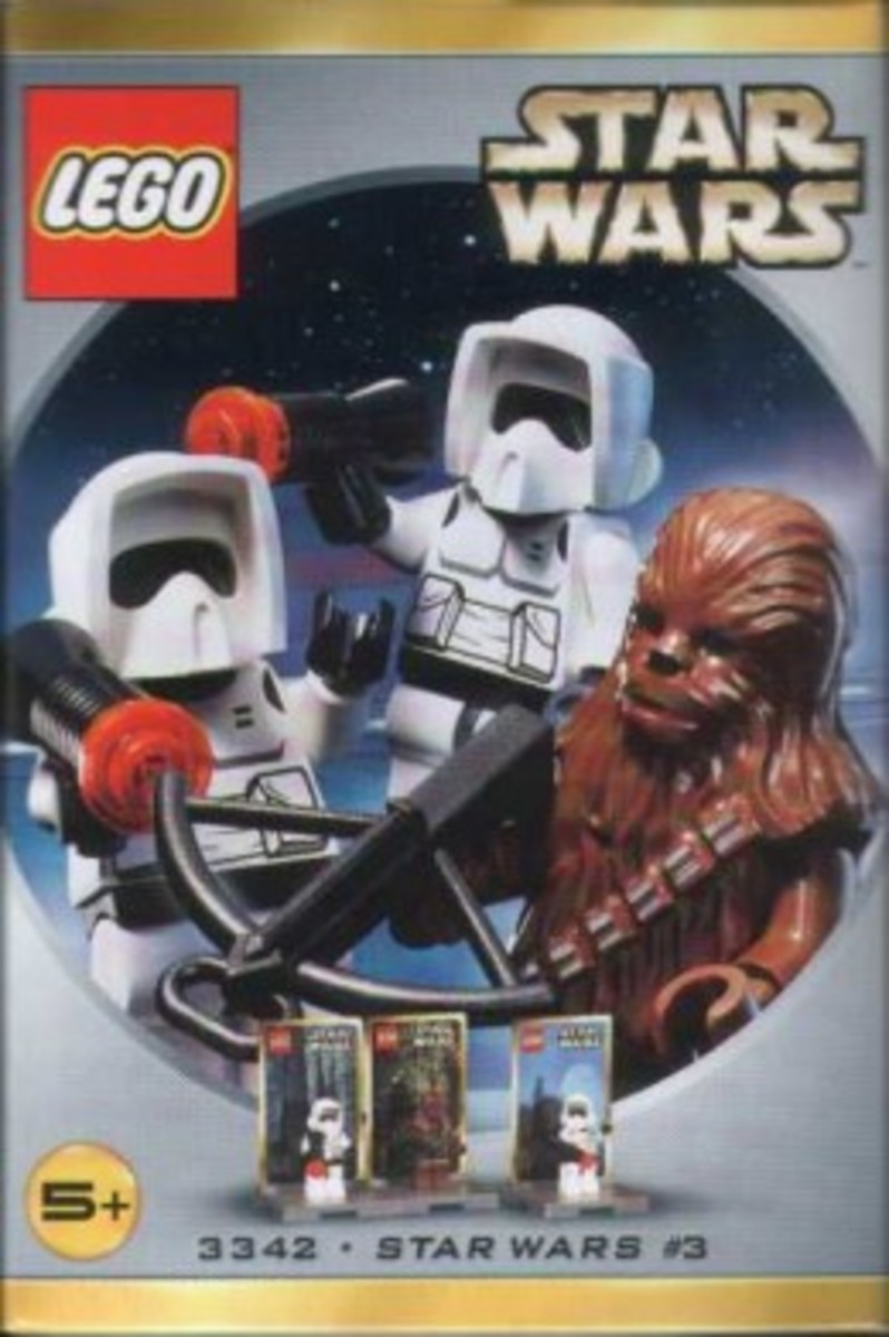 Lego Star Wars #3 3342 Minifigures Box