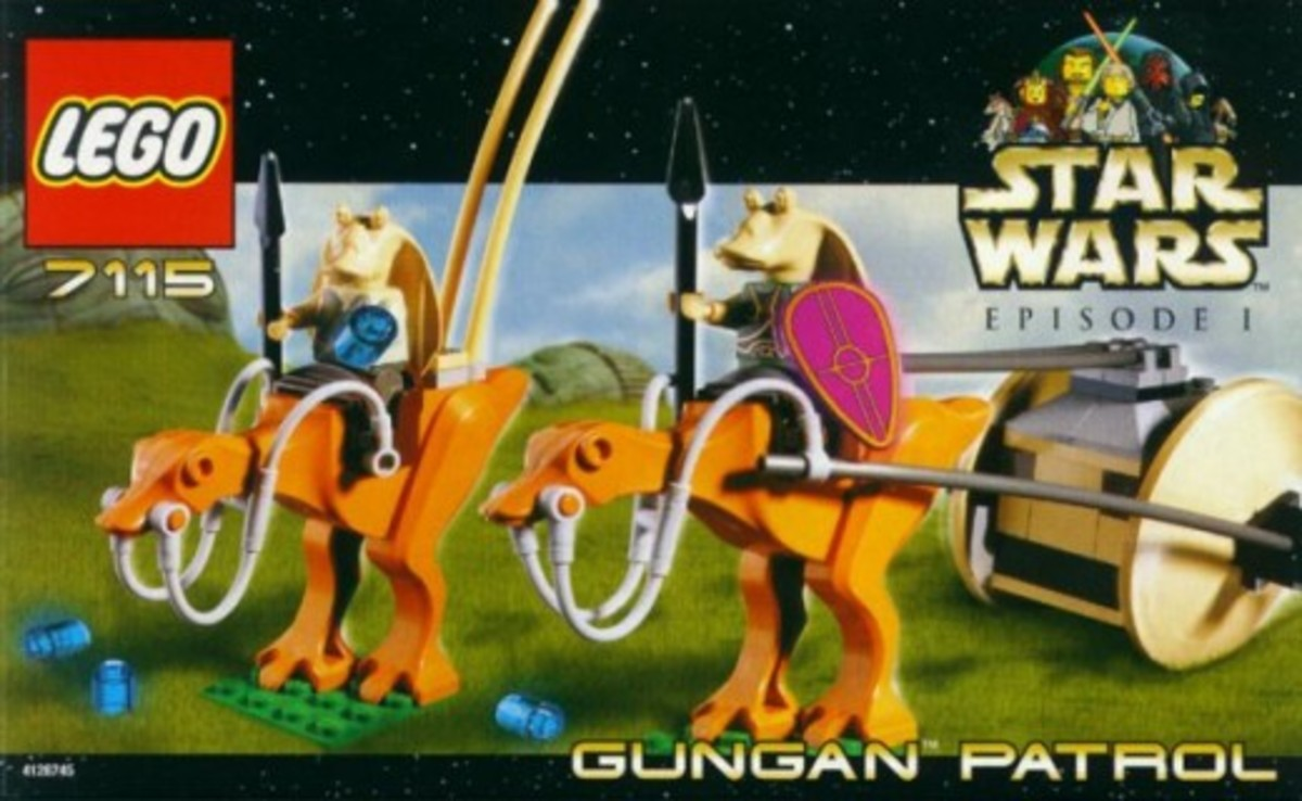 Lego Star Wars Gungan Patrol 7115 Box