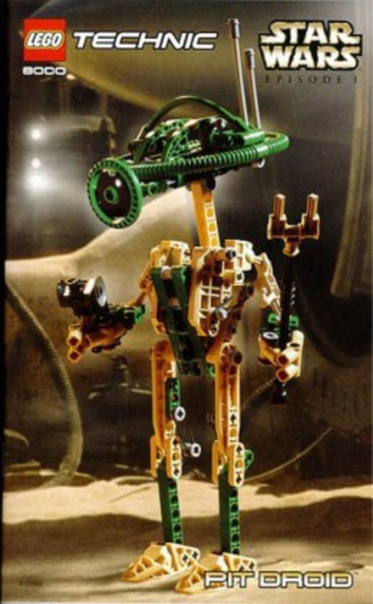 Lego Star Wars Pit Droid 8000 Box