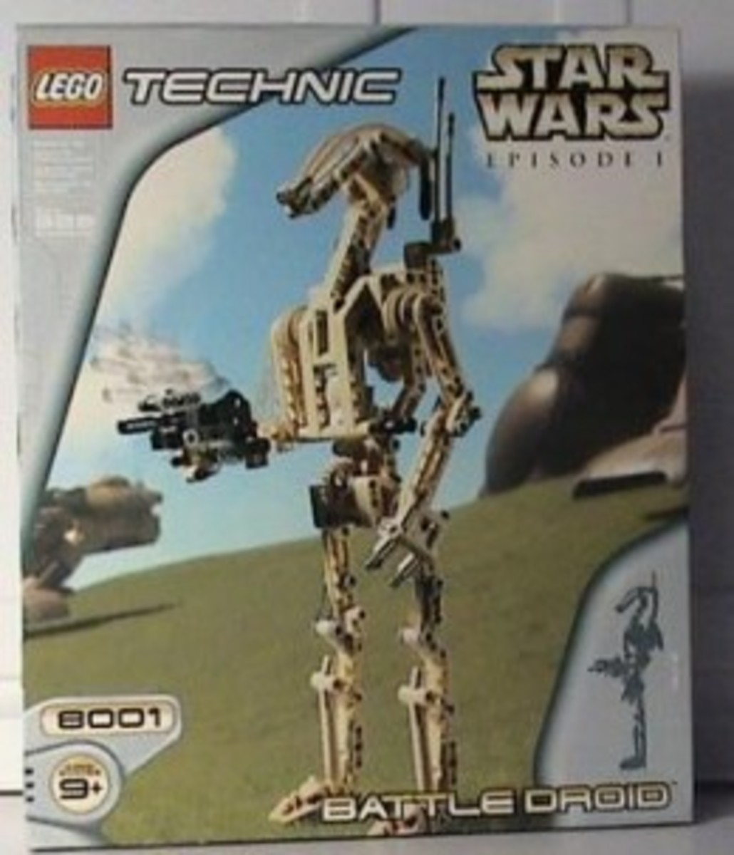 Lego Star Wars Battle Droid 8001 Box