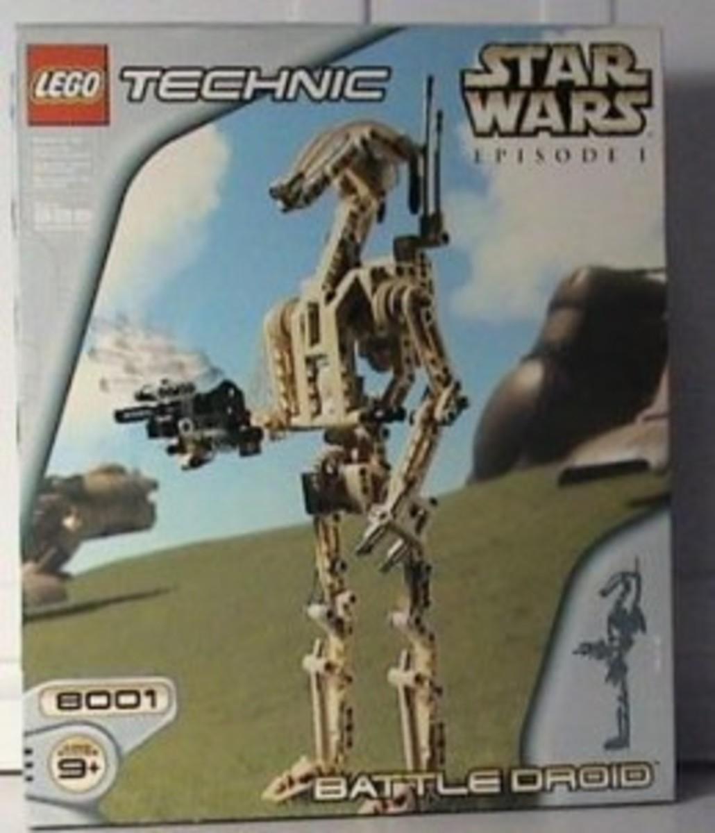 Lego Star Wars Battle Droid 8001 Box
