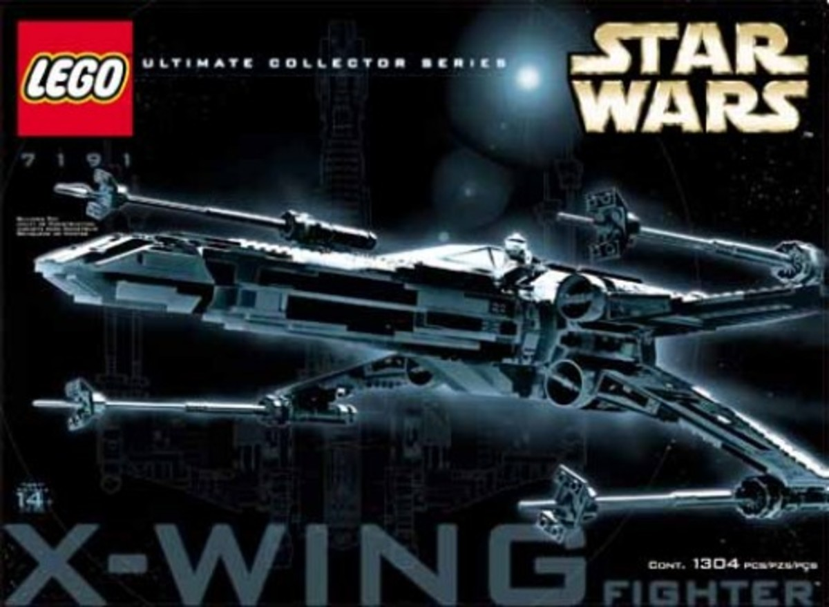 Lego Star Wars X-Wing Fighter 7191 Box