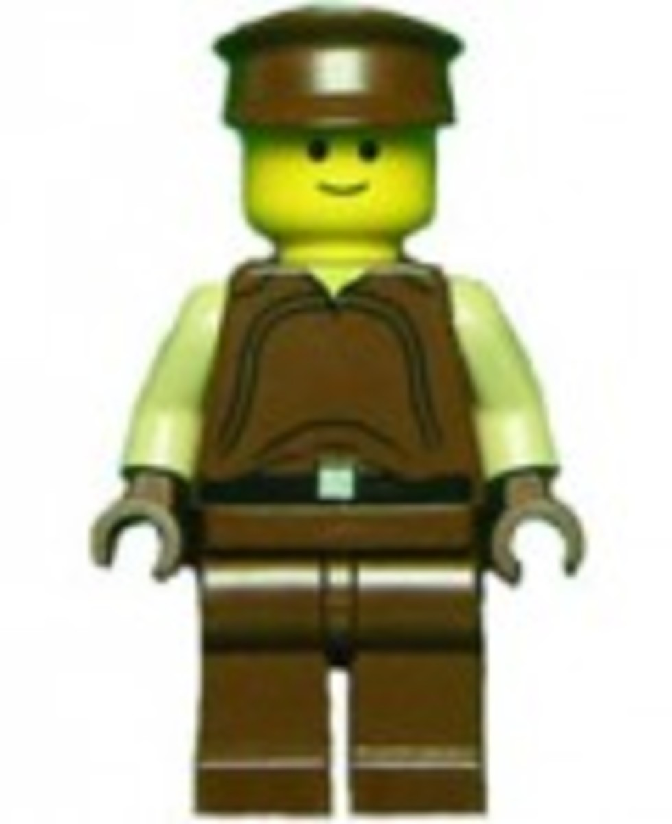 Lego Star Wars Flash Speeder 7124 Minifigure Naboo Security Officer