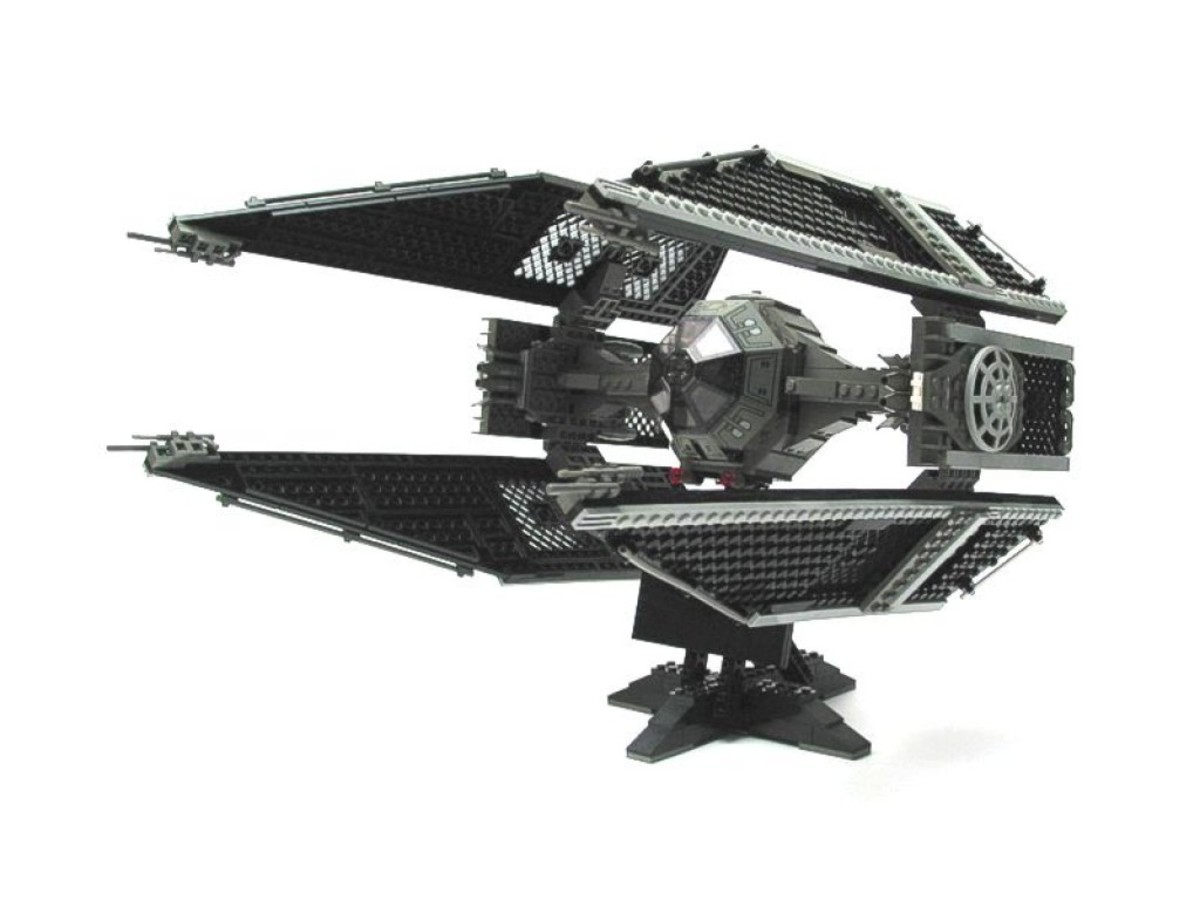 Lego Star Wars TIE Interceptor 7181 Assembled
