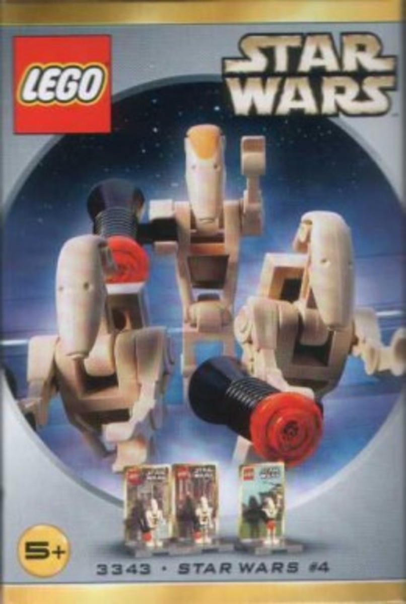 Lego Star Wars #4 3343 Minifigures Box