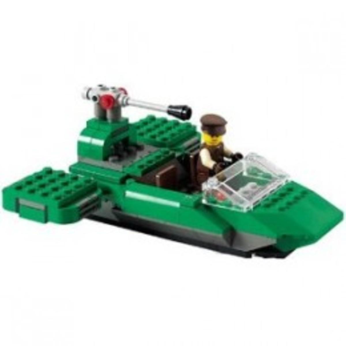 Lego Star Wars Flash Speeder 7124 Assembled