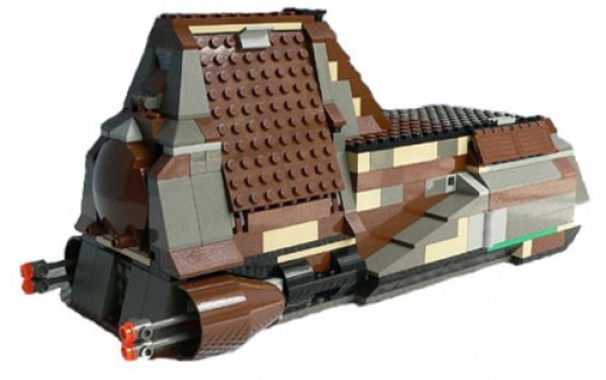 Lego Star Wars Trade Federation MTT 7184 Assembled