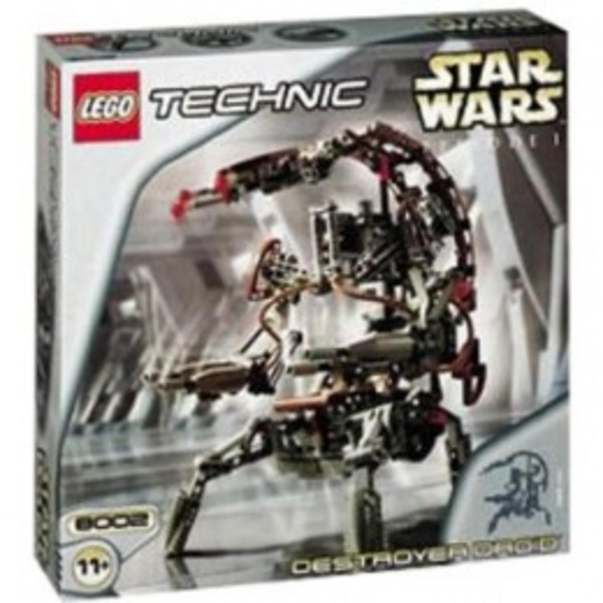 Lego Star Wars Destroyer Droid 8002 Box
