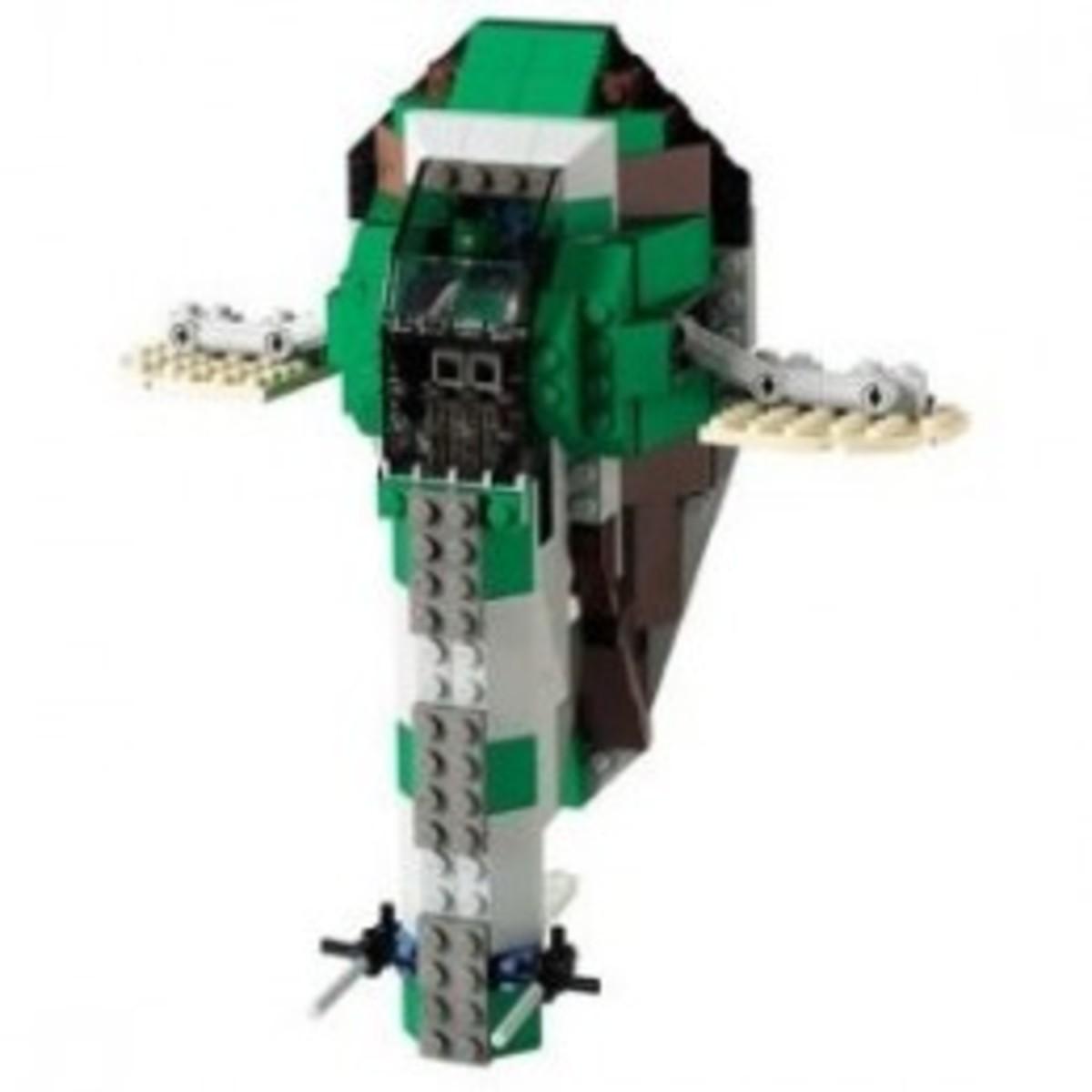 Lego Star Wars Slave-I 7144 Assembled