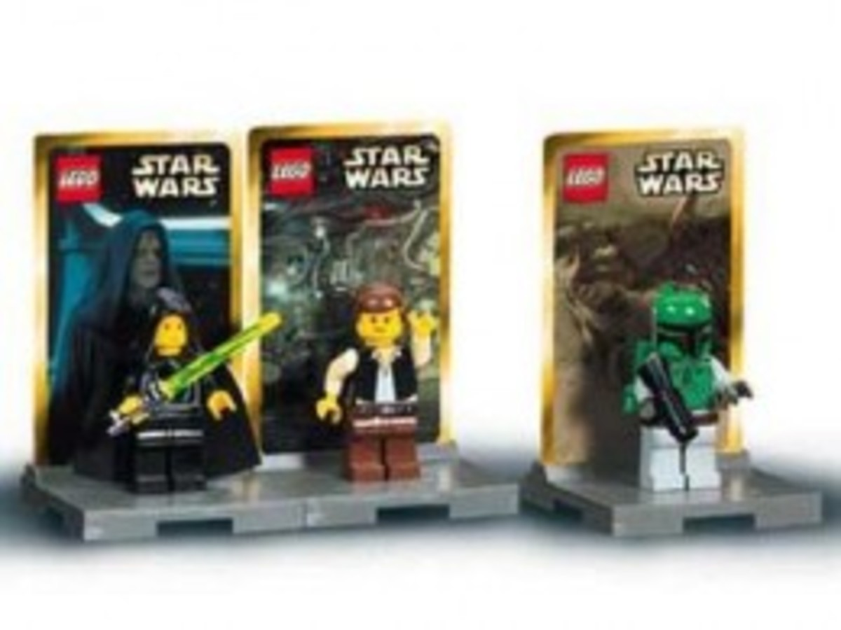 Lego Star Wars #2 3341 Minifigures Assembled