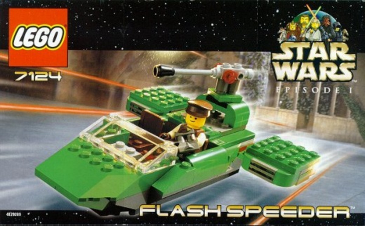 Lego Star Wars Flash Speeder 7124 Box