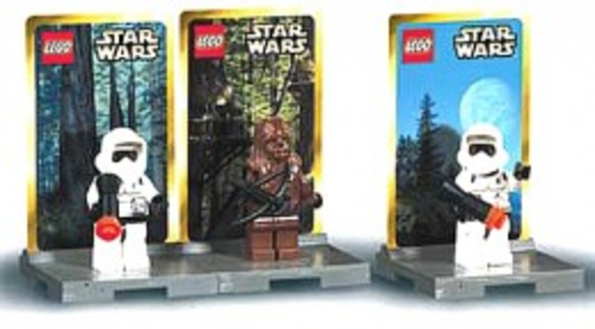 Lego Star Wars #3 3342 Minifigures Assembled