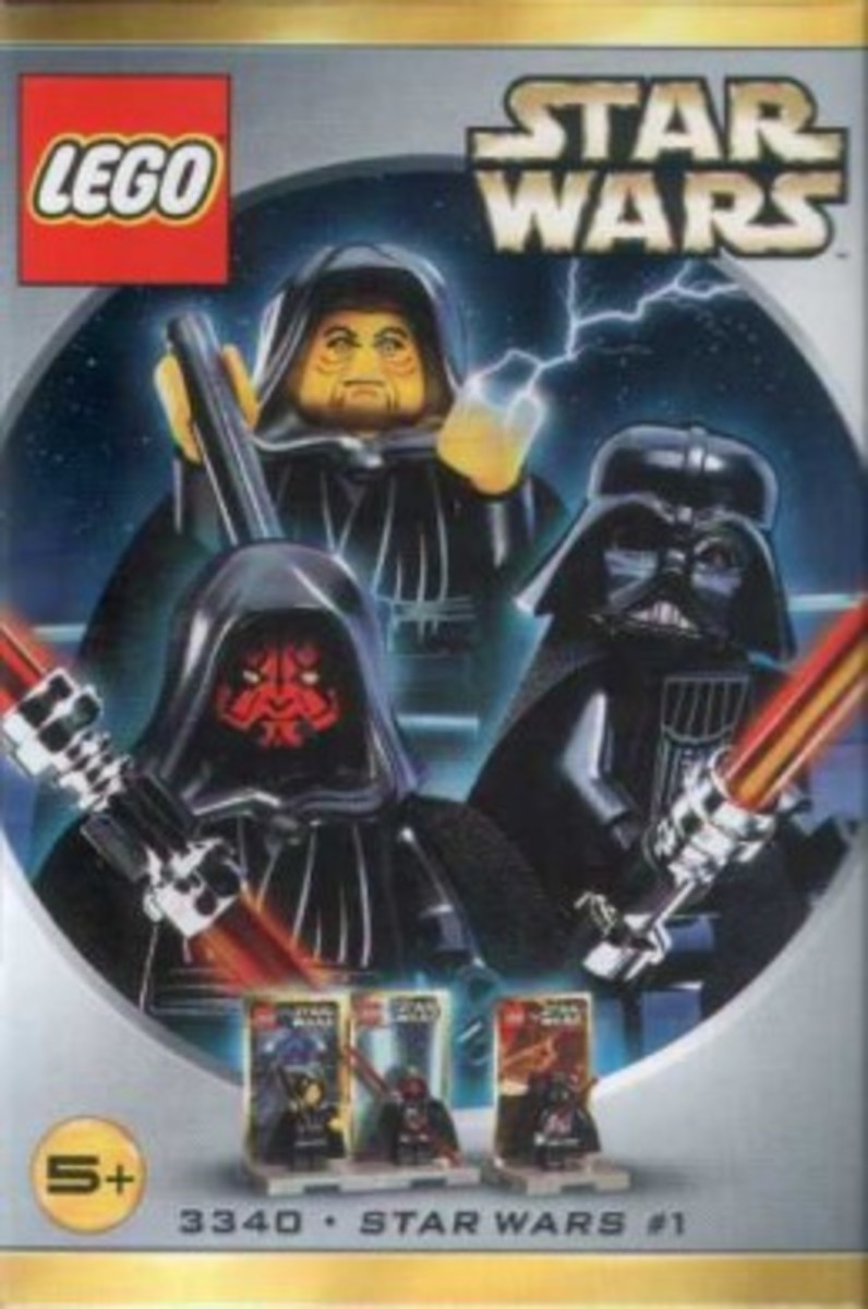 Lego Star Wars #1 3340 Minifigures Box