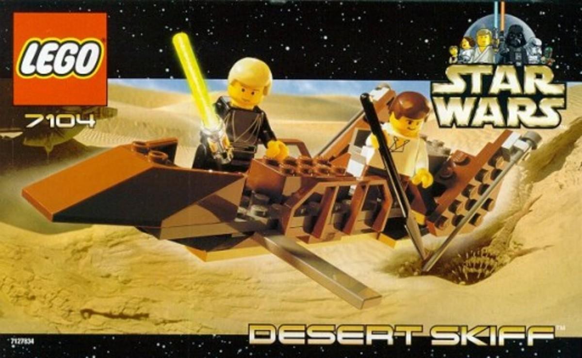 Lego Star Wars Desert Skiff 7104 Box