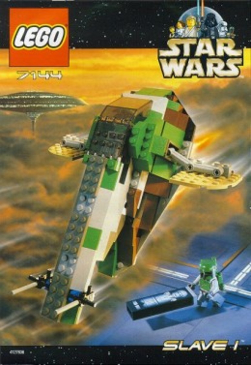 Lego Star Wars Slave-I 7144 Box