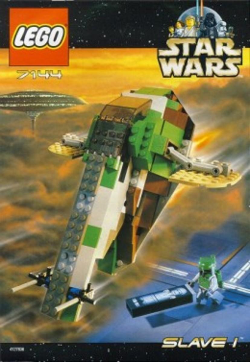 Lego Star Wars Slave-I 7144 Box