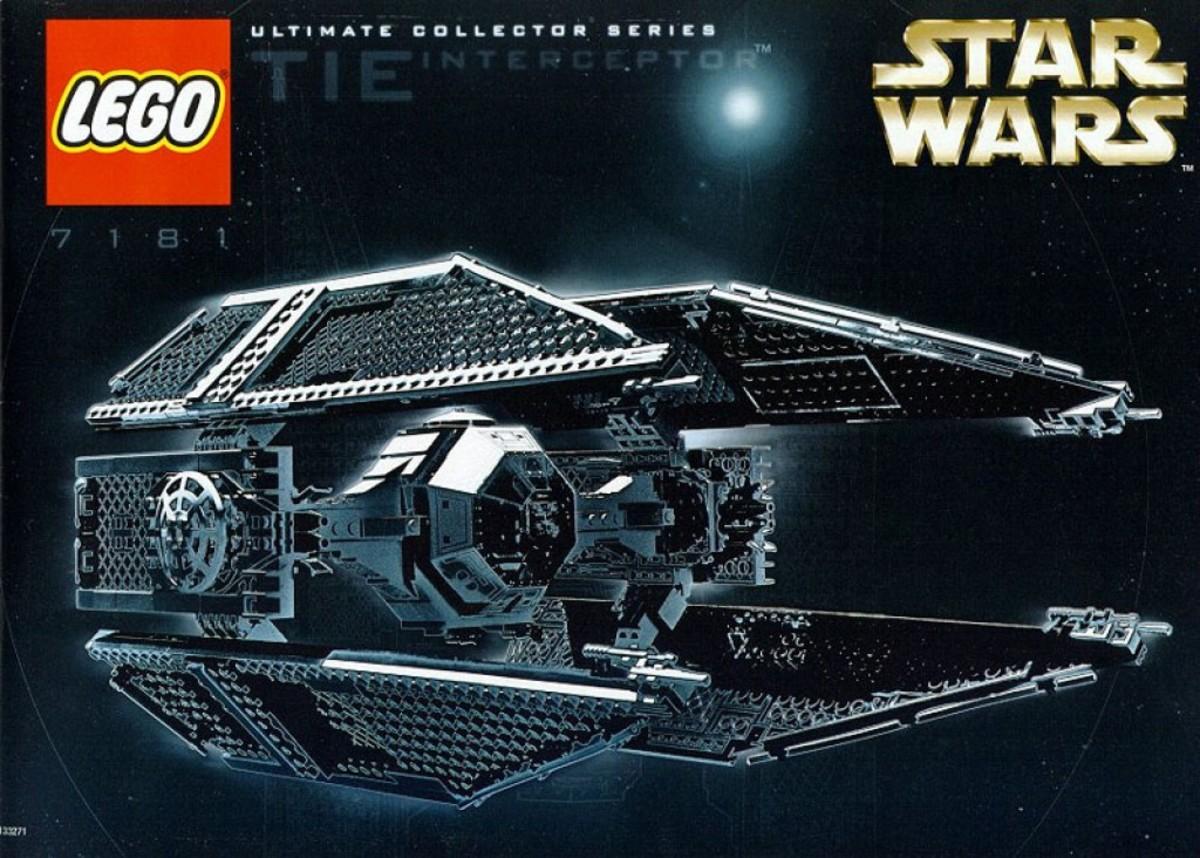 Lego Star Wars TIE Interceptor 7181 Box