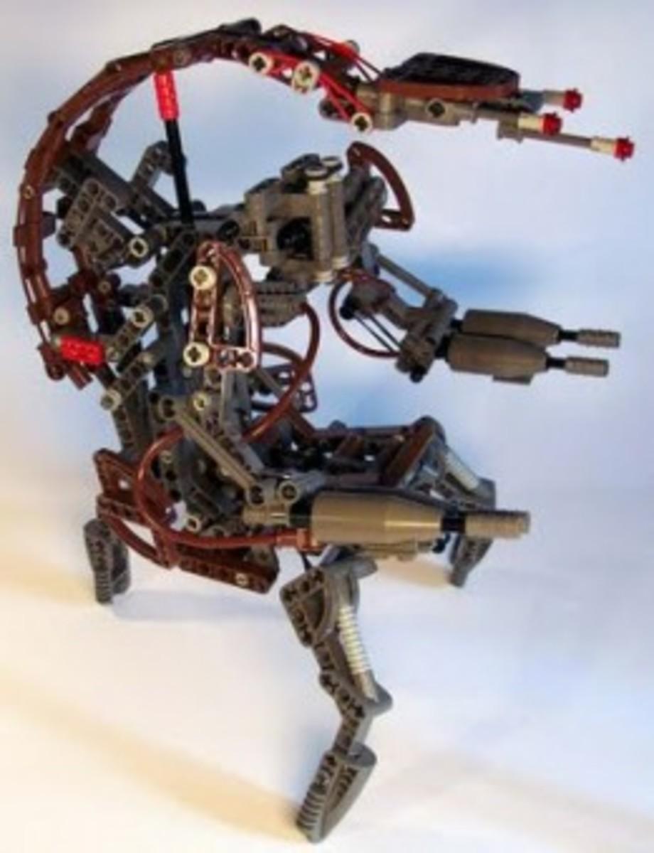 Lego Star Wars Destroyer Droid 8002 Assembled