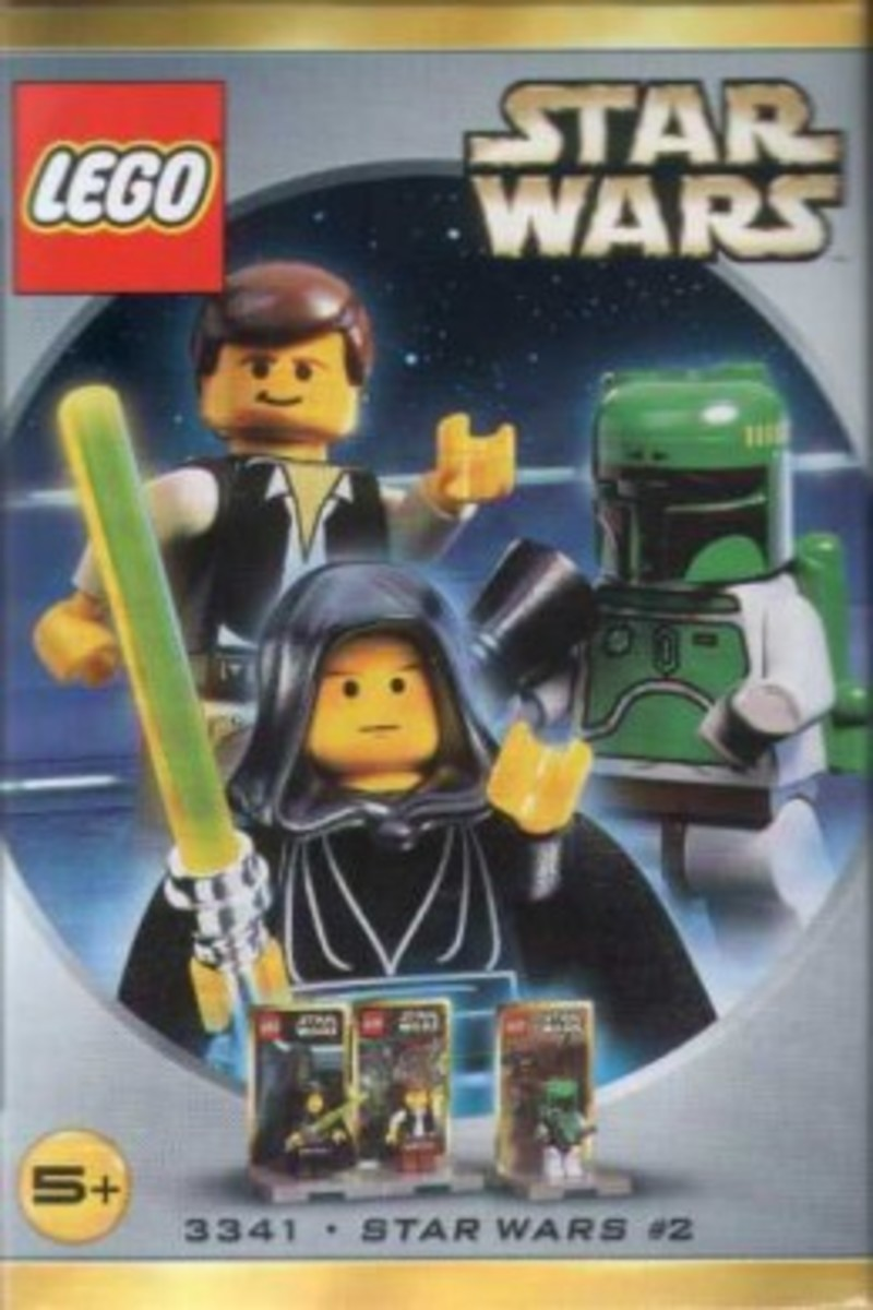Lego Star Wars #2 3341 Minifigures Box
