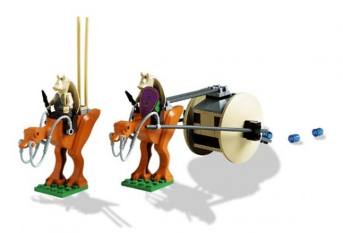 Lego Star Wars Gungan Patrol 7115 Assembled