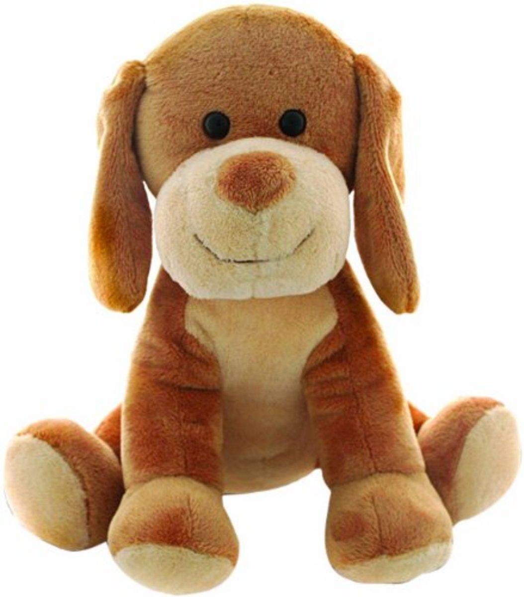 Hide and seek Jr stuffed dog