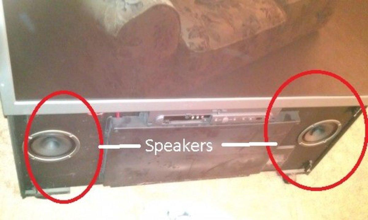 Fig 12.5.  Remove Speakers