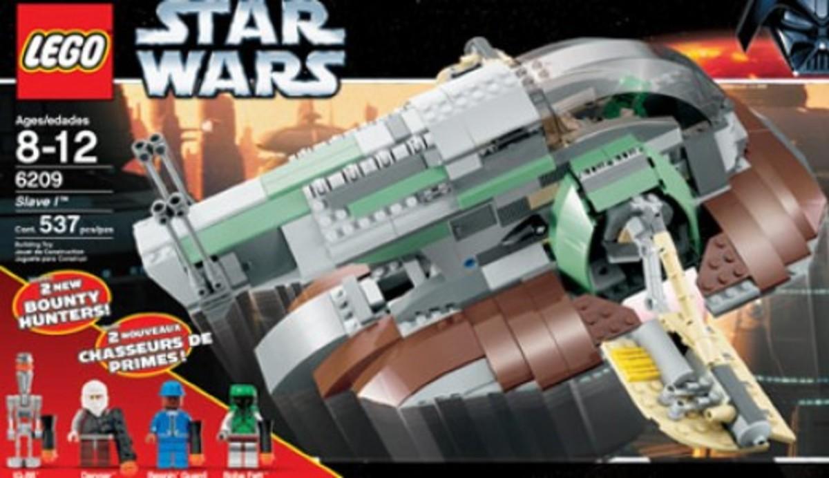 Lego Star Wars Slave 1 6209 Box