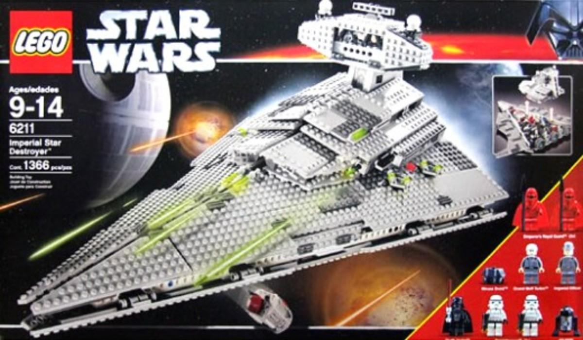 Lego Star Wars Star Destroyer 6211 Box