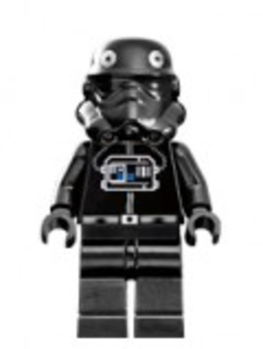 Lego Star Wars TIE Pilot Minifigure 6206