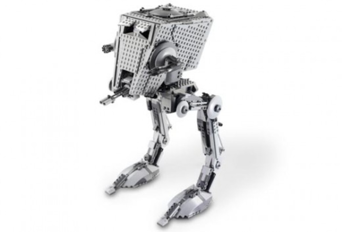 Lego Star Wars Imperial AT-ST 10174 Assembled
