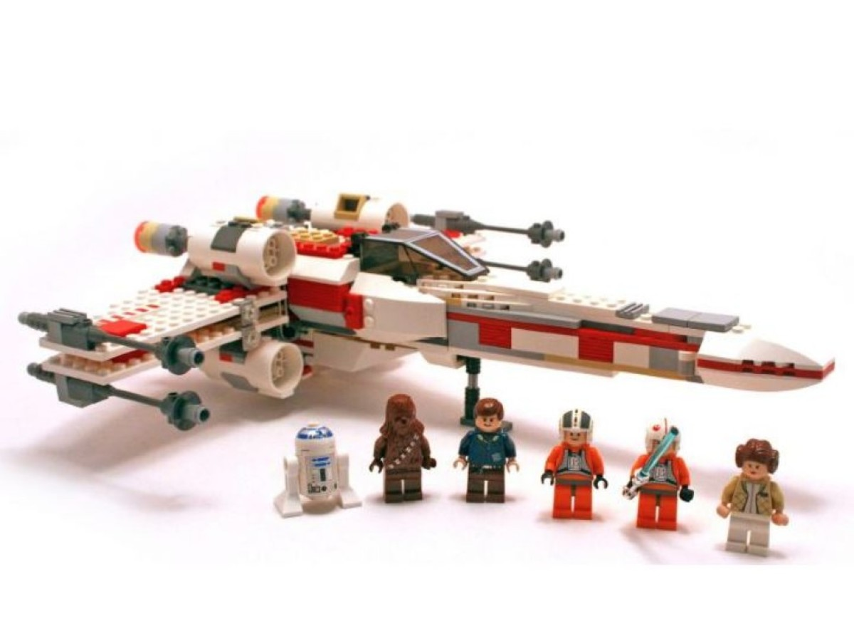 Lego Star Wars X-Wing Fighter 6212 Assembled