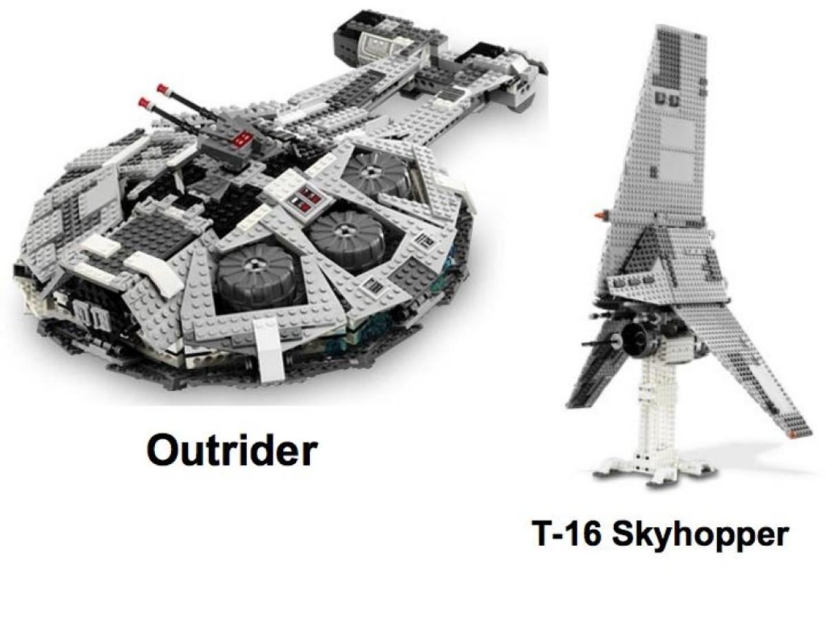Lego Star Wars Star Destroyer 6211 Extra Sets