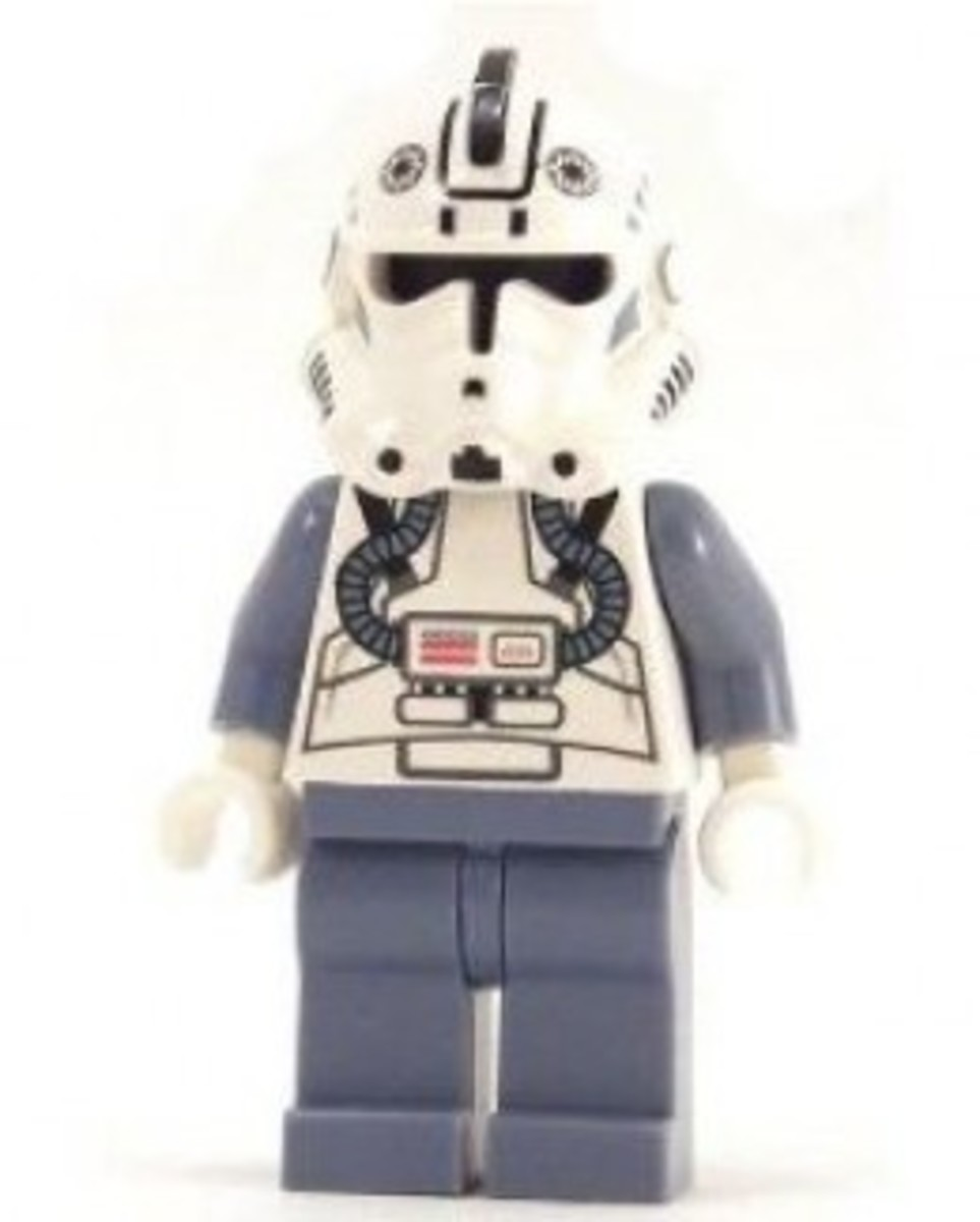 Lego Star Wars V-Wing Fighter Clone Pilot 6205