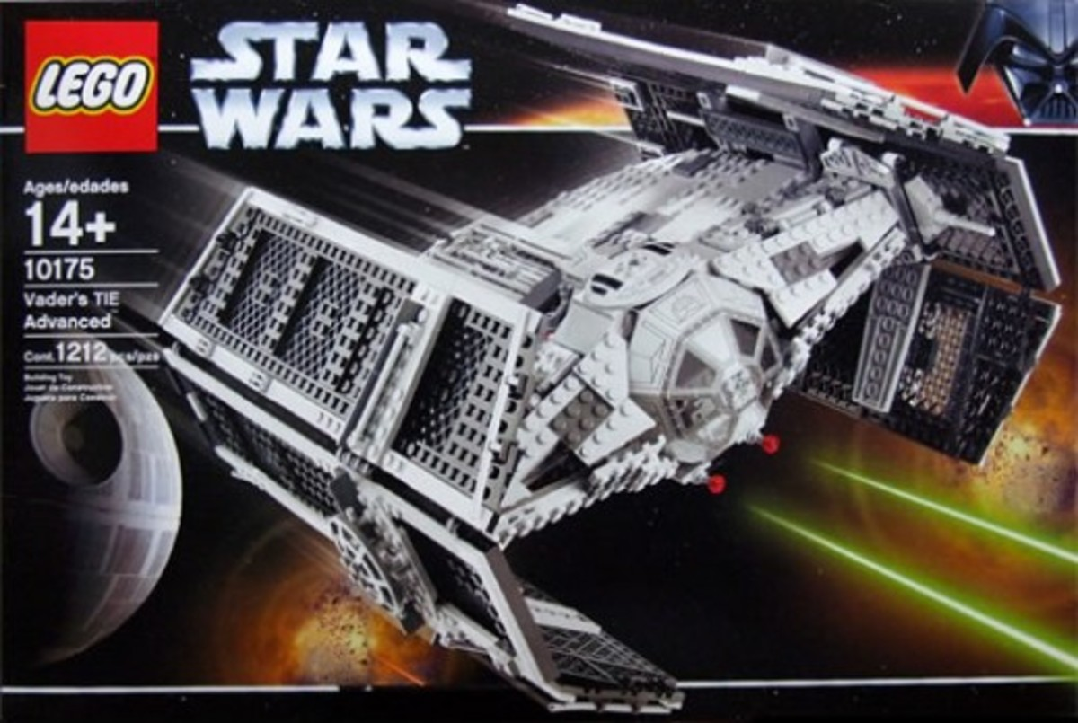 Lego Star Wars Vader's TIE Advanced 10175 Box
