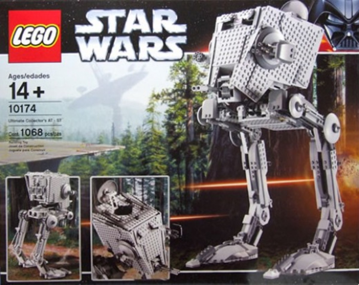 Lego Star Wars Imperial AT-ST 10174 Box