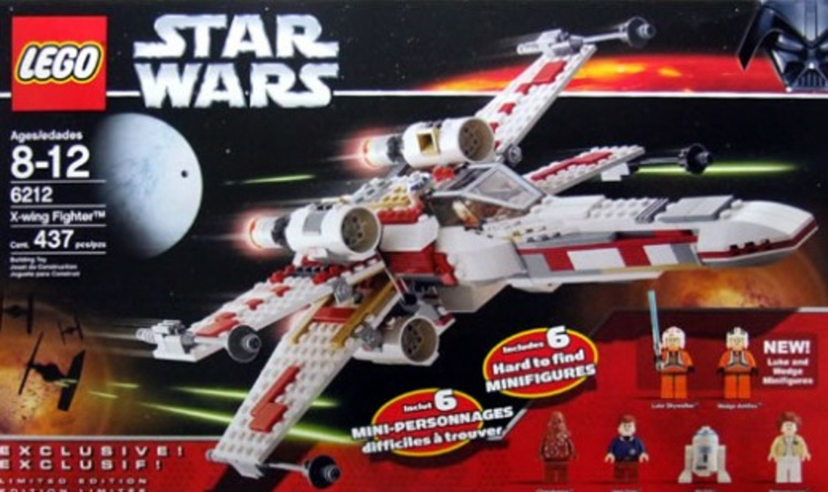 Lego Star Wars X-Wing Fighter 6212 Box
