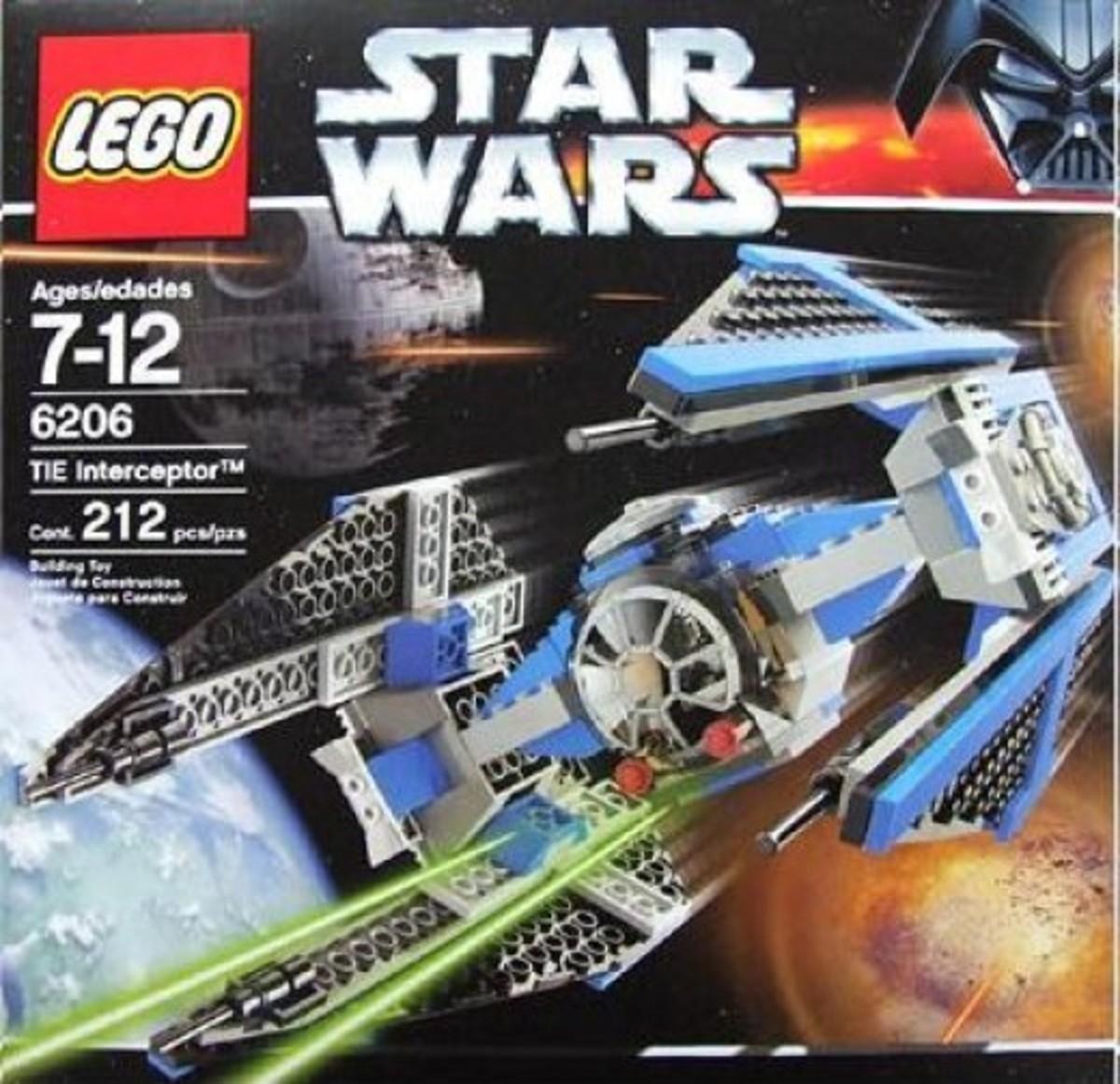 Lego Star Wars TIE Interceptor 6206 Box