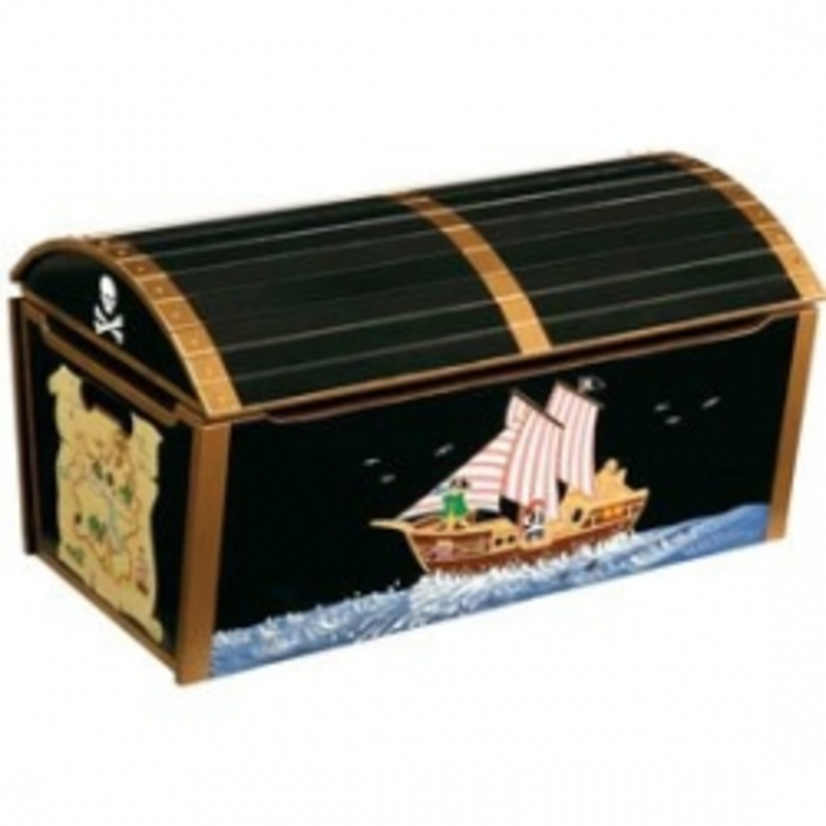 Pirate Chest Toy Box
