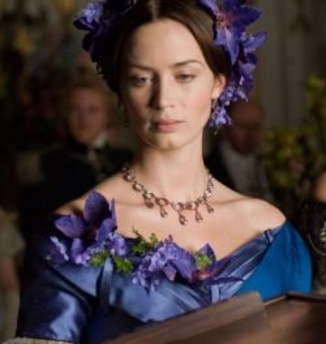 Emily Blunt as Victoria from The Young Victoria