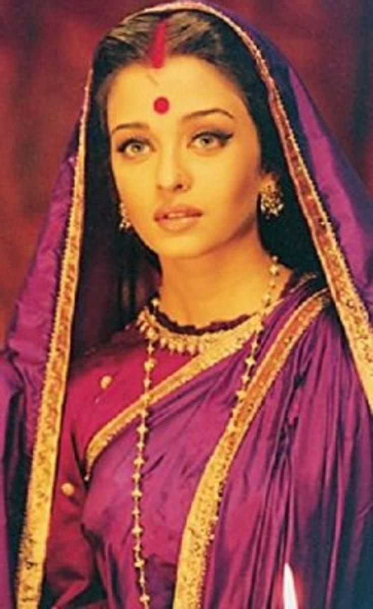 Aishwarya Rai as paro from Devdas