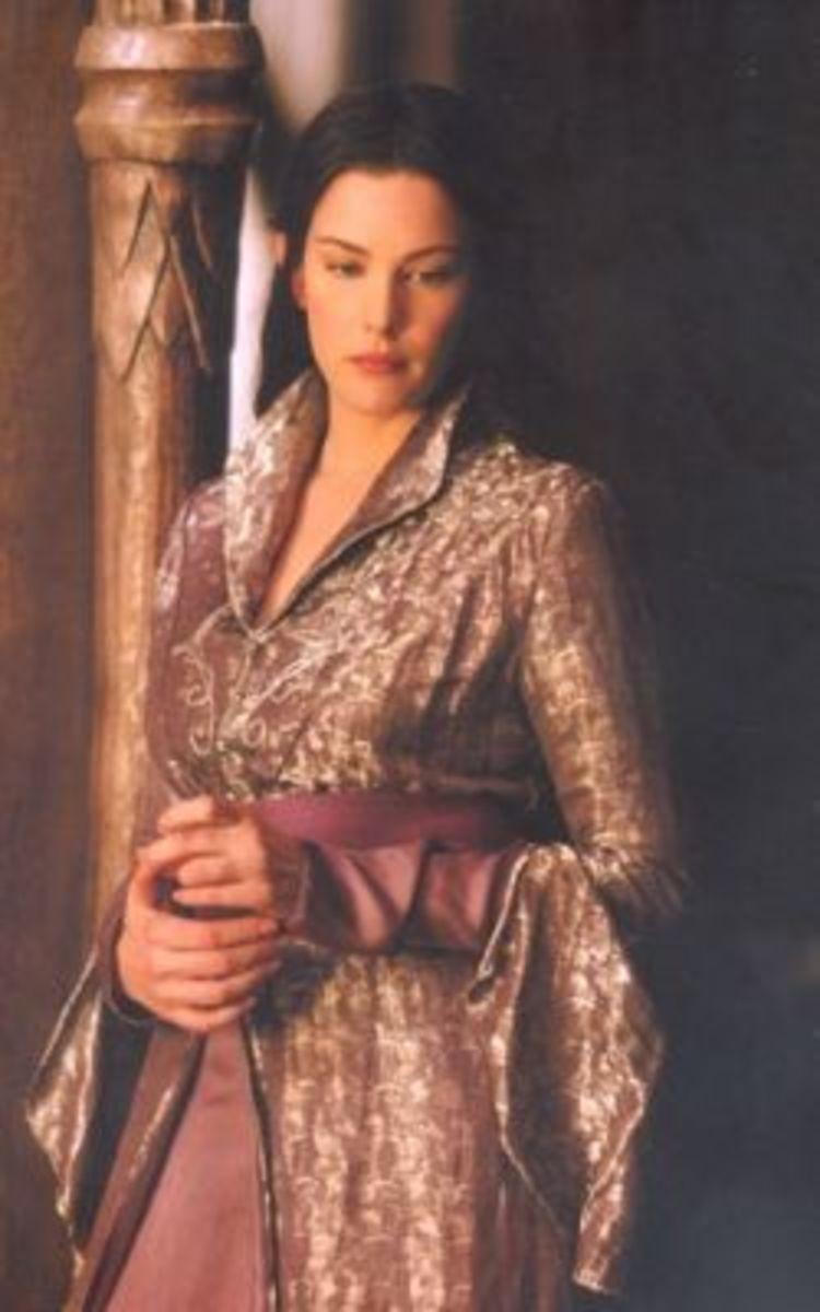 Liv Tyler as Arwen Undomiel from Lord of the Rings