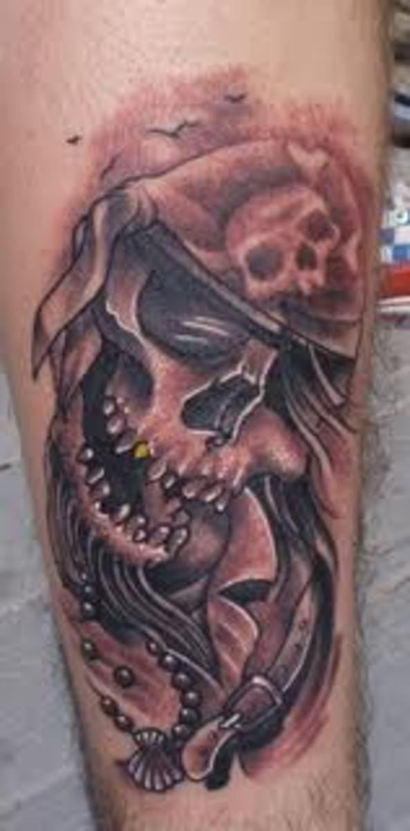 Pirate tattoos and designs pirate tattoo meanings and for Pirate tattoo meaning