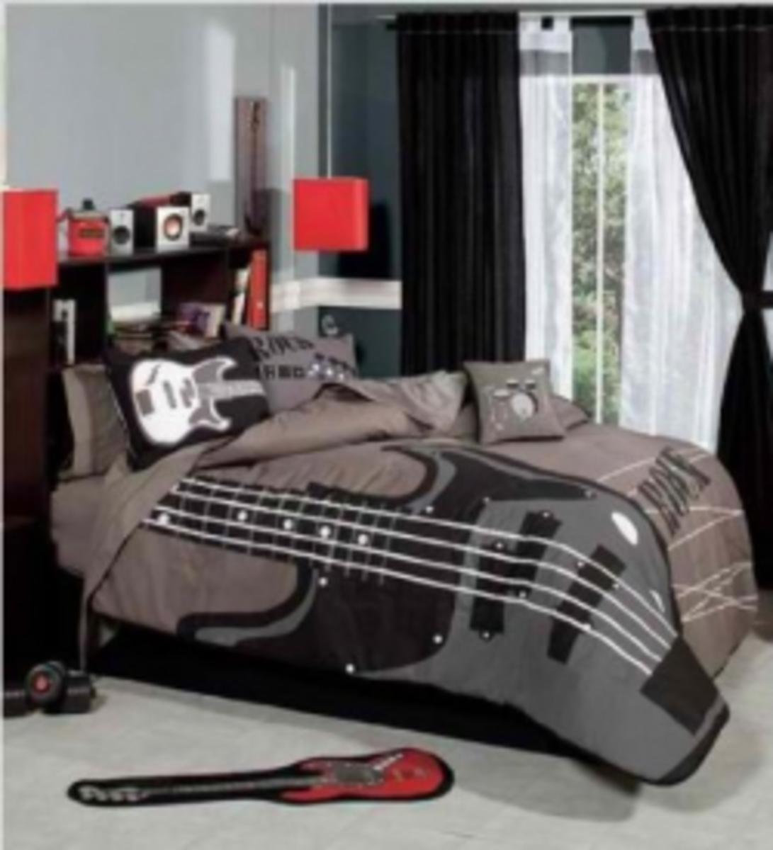 Rock 'n' Roll Bedroom Décor Ideas