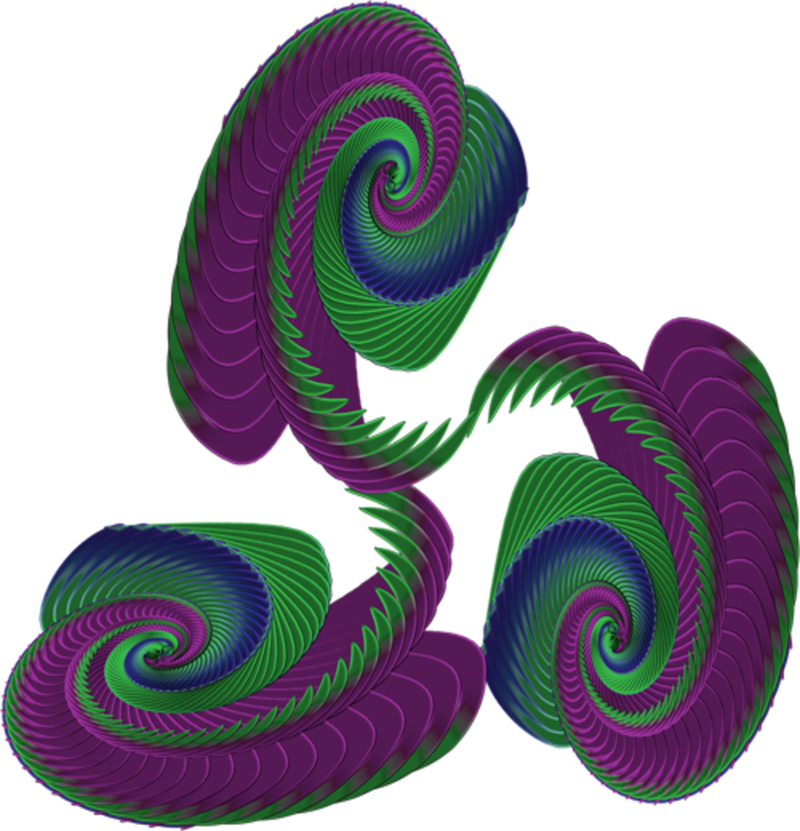 "The ""ring"" of swirls will be the basis of the final design."