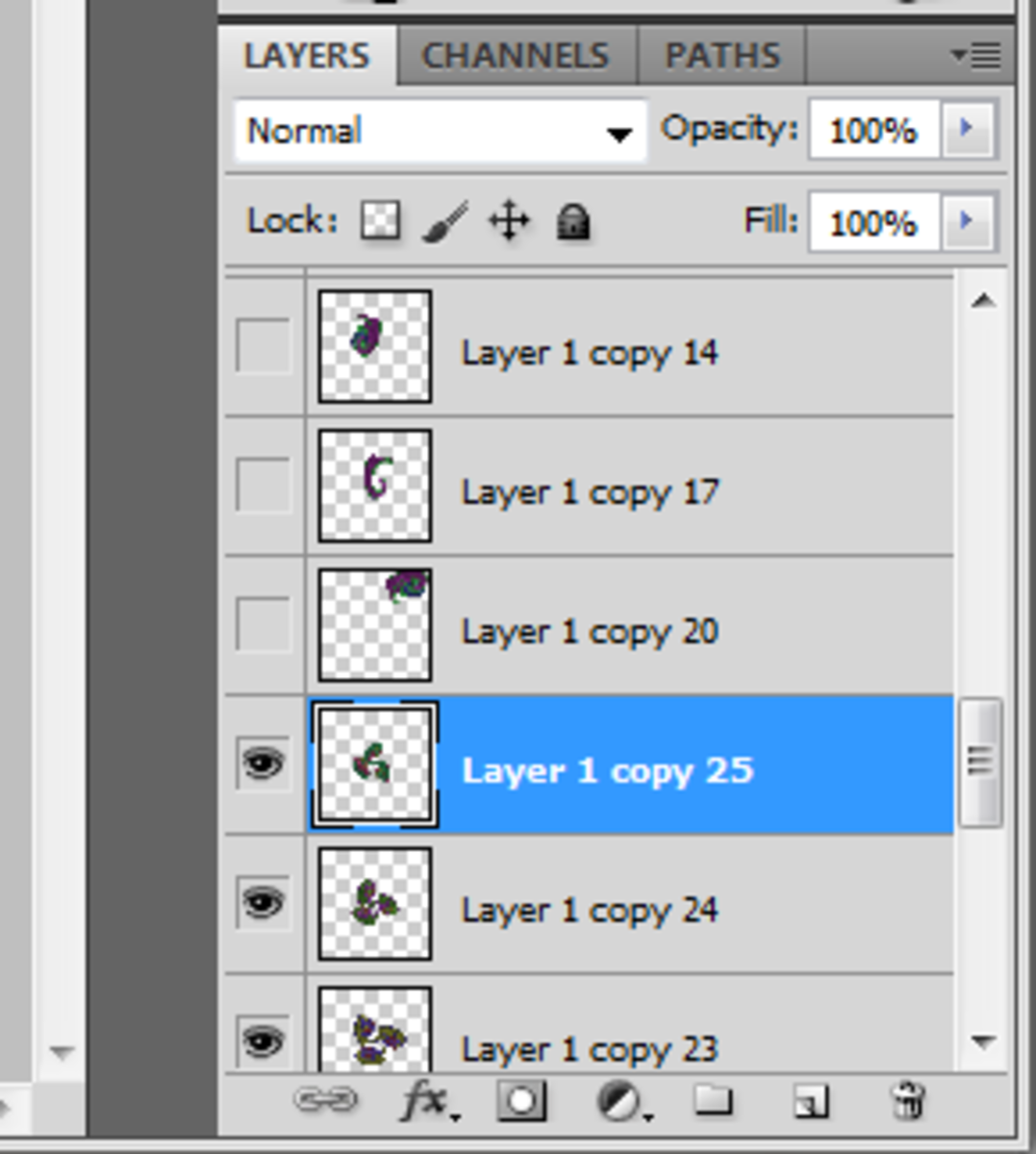 Hide any layers that you don't want to merge