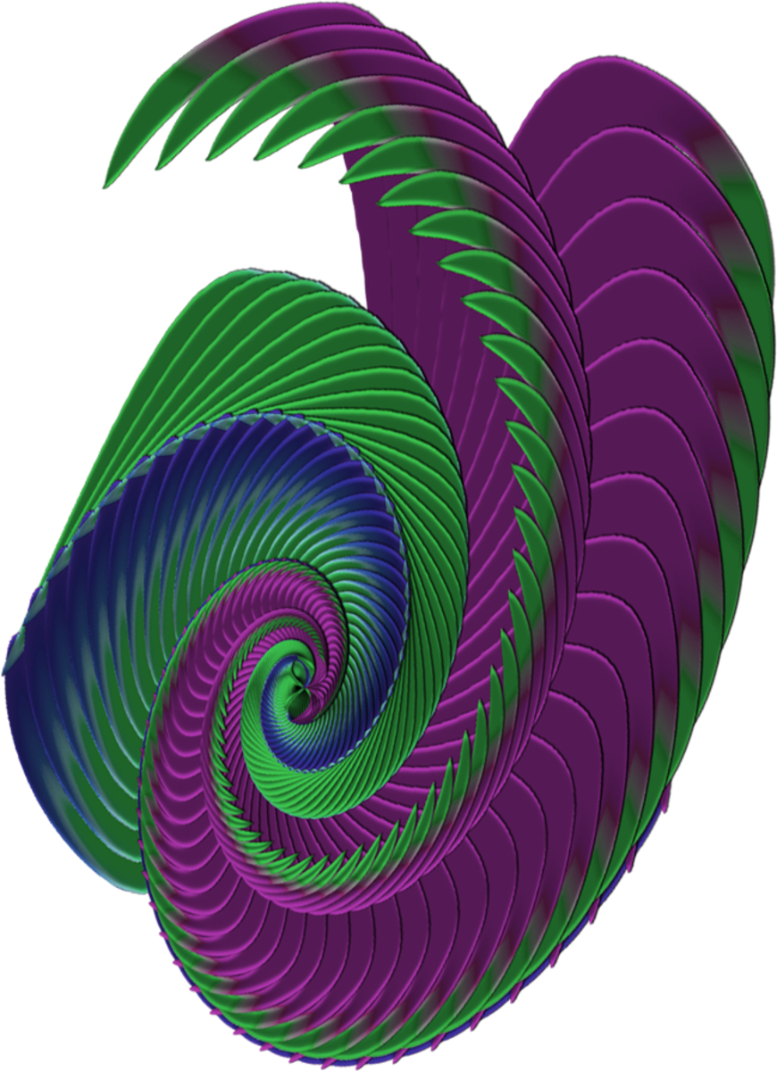 Turn the first spiral into a more complex one