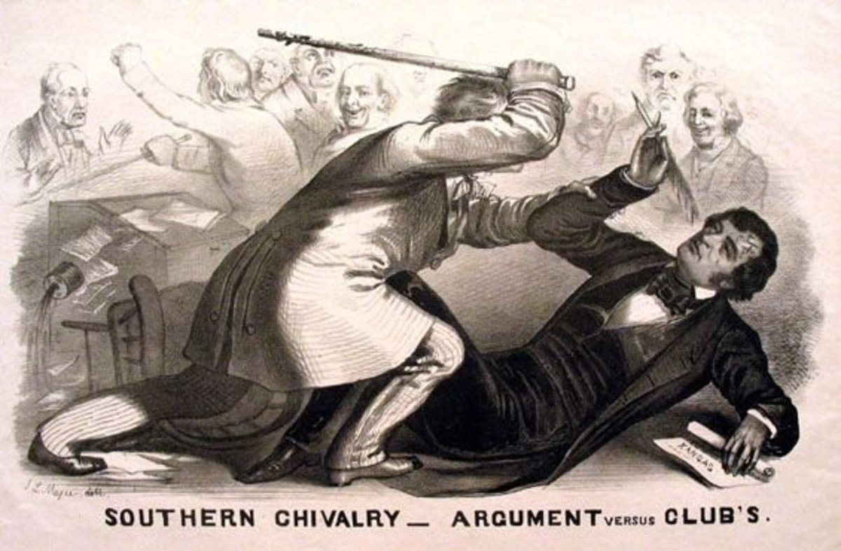 """Bleeding Kansas"" Image credit: http://www.civilwaracademy.com/bleeding-kansas.html"