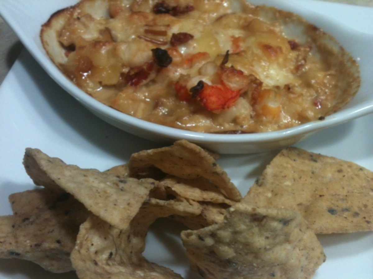 Longhorns shrimp and lobster dip