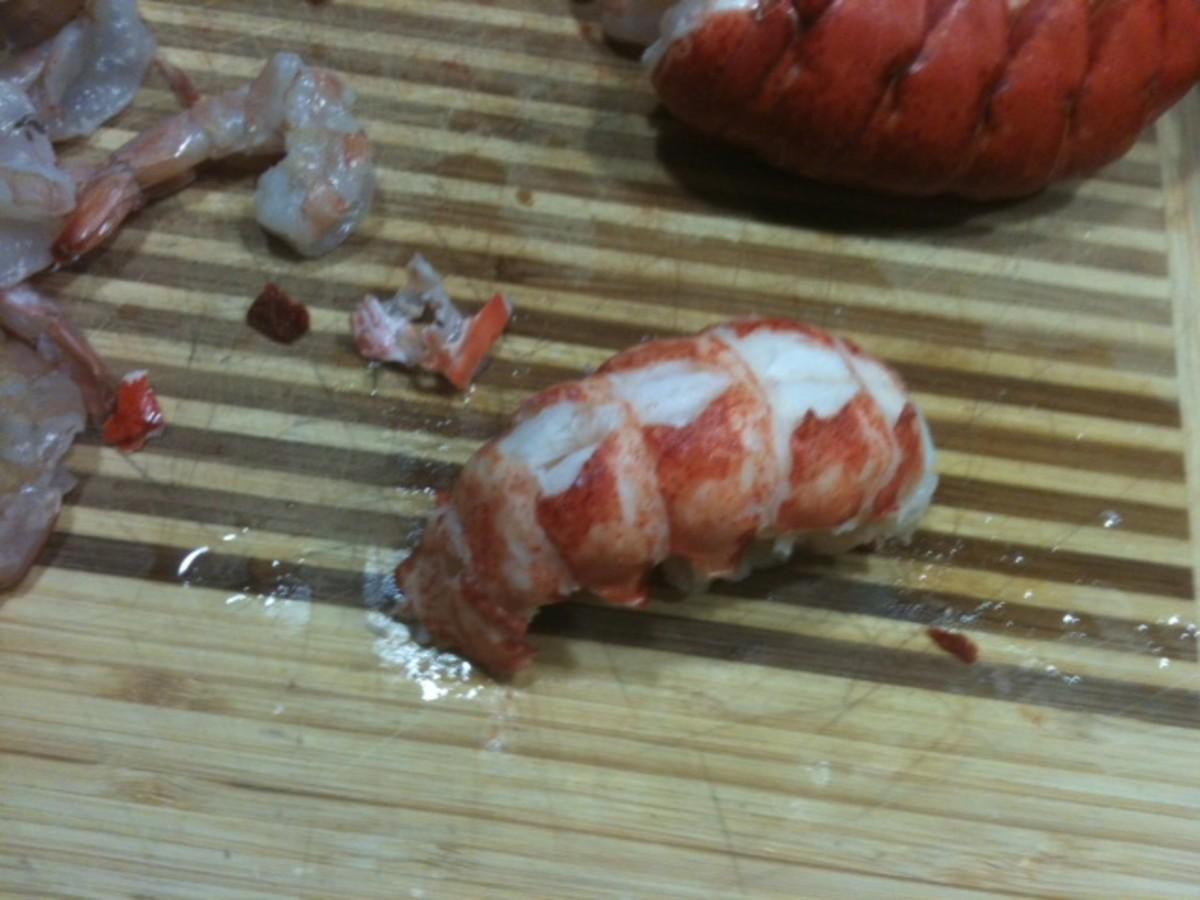 Longhorns shrimp and lobster dip
