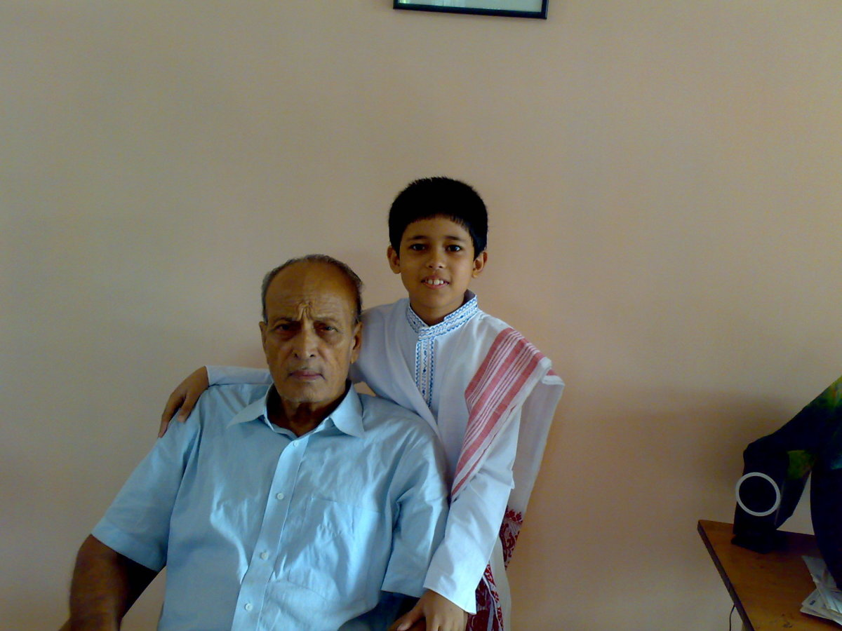 Deta and Son - Reet in the year 2009 when he was with us for some time.